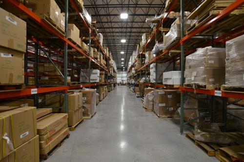 KPM Landing Warehouse medium sized racking – KPM Fulfillment